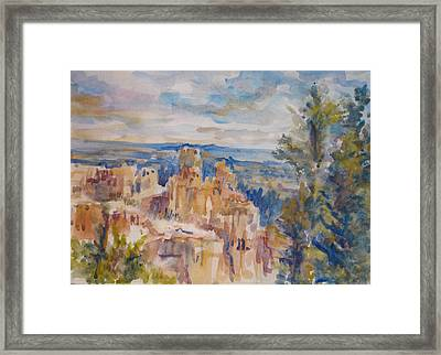 Bryce Canyon Framed Print by Joyce Kanyuk