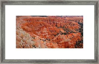 Bryce Canyon Megapixels Framed Print by Raymond Salani III