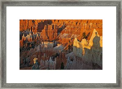 Bryce Canyon Morning Framed Print