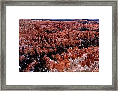 Bryce Canyon N. P. Framed Print by Larry Gohl