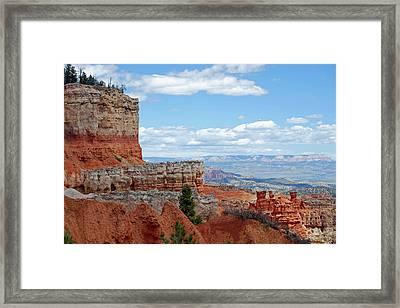 Bryce Canyon Framed Print by Nancy Landry