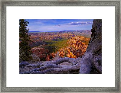Bryce Canyon Overlook Framed Print