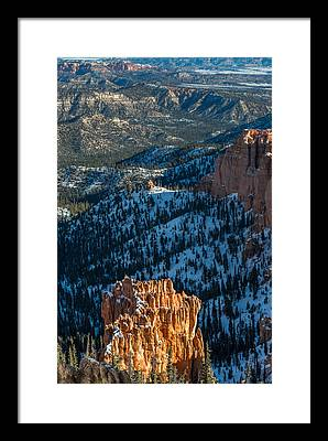 Red Rock Canyon Open Space Framed Prints
