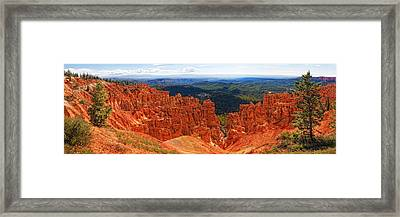 Bryce Canyon Panorama Framed Print