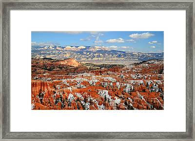Bryce Canyon Sinking Ship Framed Print by Pierre Leclerc Photography