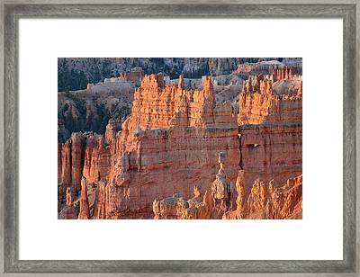 Framed Print featuring the photograph Bryce Canyon Sunrise 2016a by Bruce Gourley