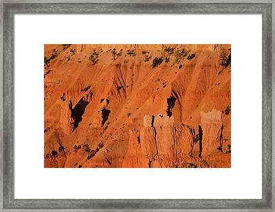 Framed Print featuring the photograph Bryce Canyon Sunrise 2016b by Bruce Gourley