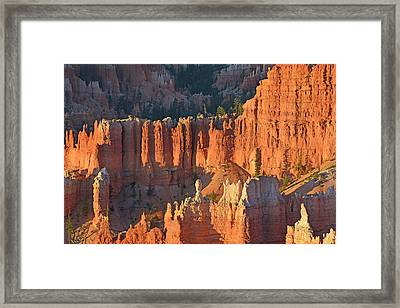 Framed Print featuring the photograph Bryce Canyon Sunrise 2016c by Bruce Gourley