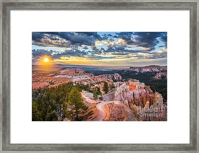 Bryce Canyon Sunrise Point Framed Print