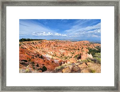 Bryce Canyon - Sunset Point Framed Print