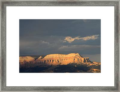 Bryce Canyon Thunderstorm  Framed Print