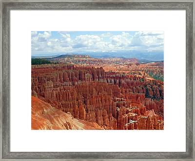 Bryce Canyon Utah Framed Print by Martina Fagan