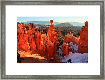 Bryce Canyon's Thor's Hammer Framed Print by Pierre Leclerc Photography