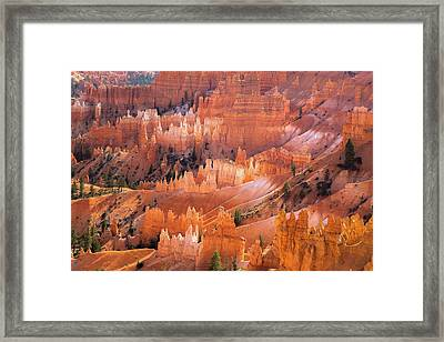 Bryce Glow Framed Print