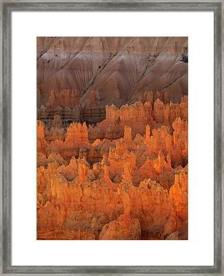 Bryce Hoodoos Framed Print