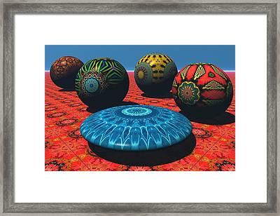 Bryce Kaleidoscope Sampler Framed Print