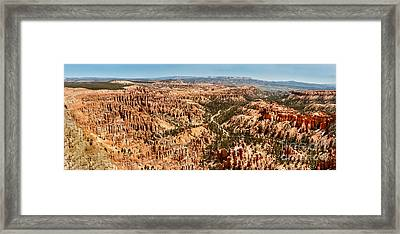 Bryce Point Framed Print by Robert Bales