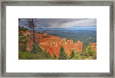 Bryce Squall Framed Print