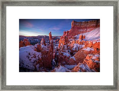 Bryce Tales Framed Print by Edgars Erglis