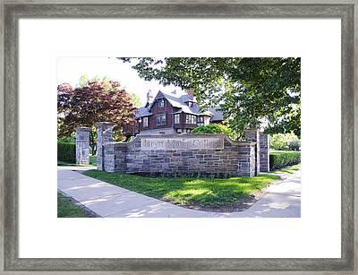 Bryn Mawr College Framed Print