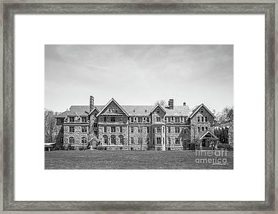 Bryn Mawr College Merlon Dormatory Framed Print