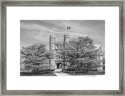 Bryn Mawr College Landscape Framed Print