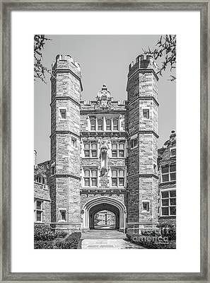 Bryn Mawr College Rockefeller Hall Framed Print by University Icons