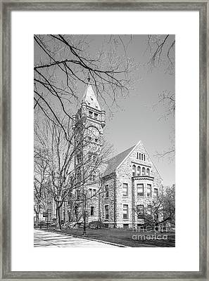 Bryn Mawr College Taylor Hall Framed Print