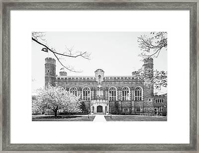 Bryn Mawr College Thomas Library Framed Print