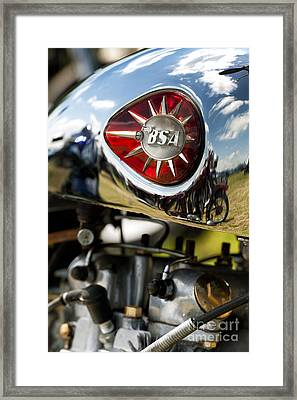 Bsa Royal Star  Framed Print by Tim Gainey