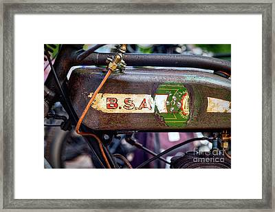 BSA Framed Print