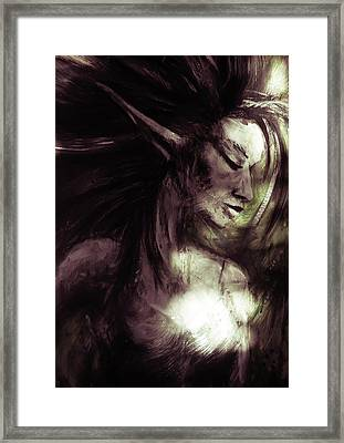 Between Light And Shadow Framed Print