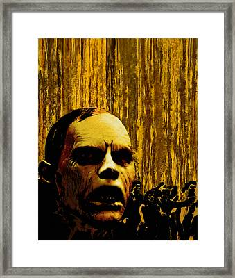 Bubb From Day Of The Dead Framed Print by Jeff DOttavio