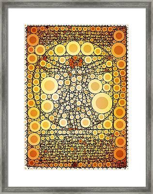 Bubble Art Da Vinci Framed Print by John Springfield