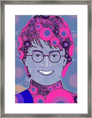 Bubble Art Potter Framed Print by John Springfield