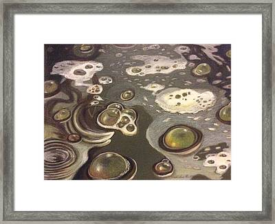 Bubble Boil And Trouble 1 Framed Print