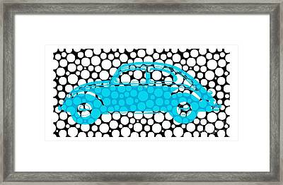 Bubble Car Vw Beetle Framed Print