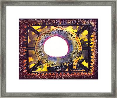 Bubble Catcher Framed Print by Tom Hefko