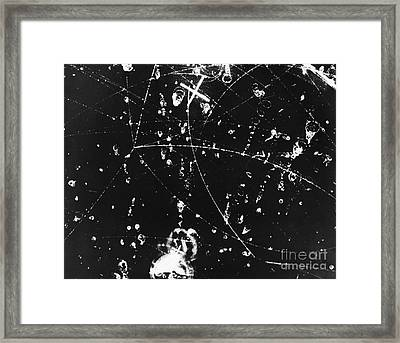 Bubble Chamber Framed Print by Argonne National Laboratory