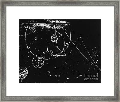 Bubble Chamber Framed Print by Rad. Lab./Omikron