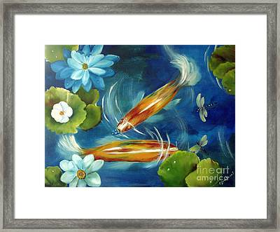 Bubble Maker Framed Print by Carol Sweetwood