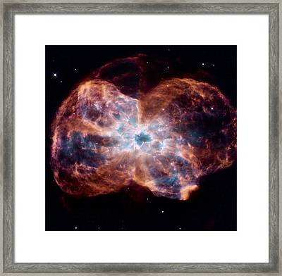 Bubble Nebula Framed Print by Hubble Space Telescope
