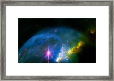 Bubble Nebula Framed Print by Jennifer Rondinelli Reilly - Fine Art Photography
