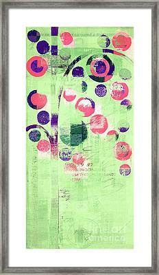 Bubble Tree - 224c33j5r Framed Print by Variance Collections