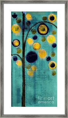 Bubble Tree - 42r1-cb4 Framed Print by Variance Collections