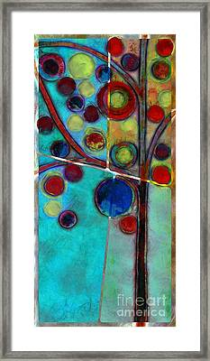 Bubble Tree - 7546l2 Framed Print by Variance Collections