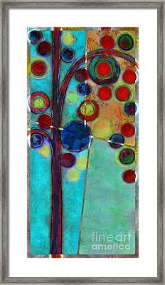 Bubble Tree - 7546r2 Framed Print by Variance Collections