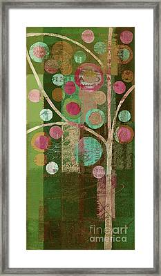 Bubble Tree - 85lc16-j678888 Framed Print by Variance Collections
