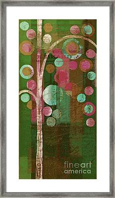 Bubble Tree - 85rc16-j678888 Framed Print by Variance Collections