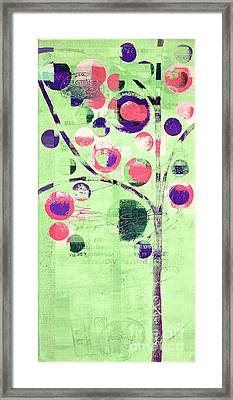Bubble Tree - 224c33j5l Framed Print by Variance Collections